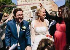 Schloss Ulrichshusen Kirche Hochzeitsfotograf Reportage