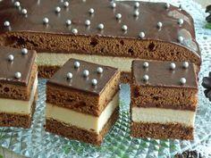 to1 Layered Desserts, Polish Recipes, Polish Food, Christmas Baking, Cheesecakes, Baked Goods, Tiramisu, Baking Recipes, Sweet Tooth
