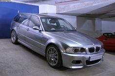 Buried deep in the secret garage at BMW M in Garching lays an exciting M3 that never saw daylight. The E46 BMW M3 Touring. R.I.P.