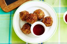 The kids can easily whip up these finger-licking-good cheesy meatballs.