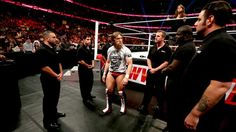 WWE.com: John Cena, Daniel Bryan and Stephanie McMahon address the events that occurred at SummerSlam: photos #WWE