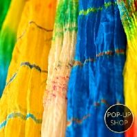We love Indian scarves and exotic fabrics from India