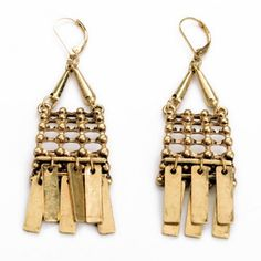 Pair of Ethnic Style Women's Solid Color Earrings