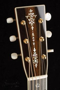 Bourgeois Guitars Headstock, 14-fret 0 body, with 42-Style appointments