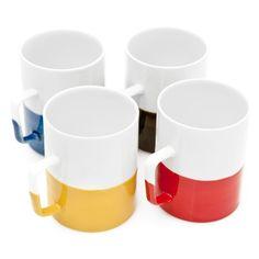 Color Dipped Mug