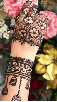 Rose Mehndi Designs, Back Hand Mehndi Designs, Stylish Mehndi Designs, Latest Bridal Mehndi Designs, Full Hand Mehndi Designs, Mehndi Designs For Girls, Mehndi Designs For Beginners, Mehndi Design Photos, Wedding Mehndi Designs