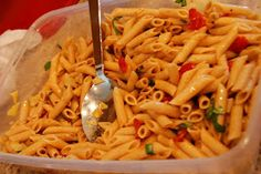 A delicious pasta salad I want to try
