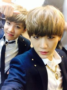 Hoseok and Yoongi's twitter update #BTS