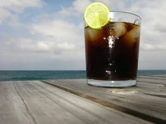 Rum and Coke..if a bar does not have my long island this is always my second choice