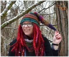 Elf hats by Bat's Woodland Wares https://www.etsy.com/listing/262422199/elf-hat-fidelius-charm