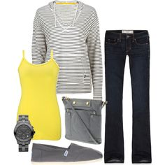 Sporty - Polyvore...dislike the shoes though