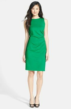 $98 Kenneth Cole New York 'Hilary' Sheath Dress (Petite) available at #Nordstrom MULTIPLE COLORS AVAILABLE (Not Charcoal Melange)