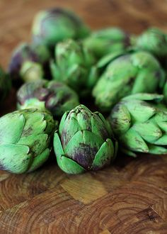 Grilled Baby Artichokes with Lemon