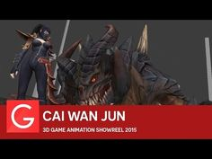 Scott Dickey - Guild Wars 2: Path of Fire 3D Game Animation Showreel - YouTube