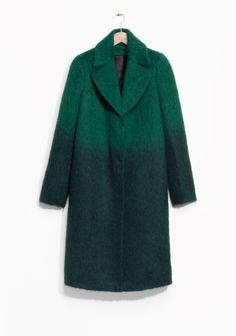 & Other Stories   Gradient Wool-Blend Coat