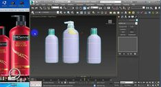 3d Product bottle modeling Tutorial in 3d studio max