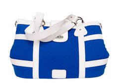 20% off the Monaco Satchel in Blue and White this week only! See www.drehartmann.com for purchasing information!