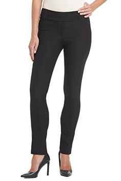 0d28f6aeb Rekucci Womens Ease In To Comfort Fit Stretch Slim Pant 10Black -- To view  further