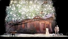 Traviata, by / selon Josef Svoboda Set Design Theatre, Prop Design, Stage Design, Children Of Eden, Stage Beauty, Stage Set, Center Stage, Scenic Design, Stage Lighting