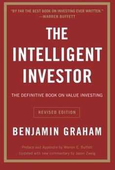 #Finance #Book: The Intelligent Investor: The Definitive Book On Value Investing. A Book Of Practical Counsel (Collins Business Essentials) https://www.amazon.com/Intelligent-Investor-Definitive-Investing-Essentials/dp/0060555661%3FSubscriptionId%3DAKIAI72JTXNWG65ZO7SQ%26tag%3Dfnnc-20%26linkCode%3Dxm2%26camp%3D2025%26creative%3D165953%26creativeASIN%3D0060555661