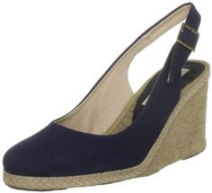 navy wedges - pied a terre