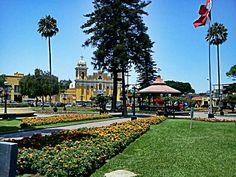 Plaza de Armas de Santiago de Surco.
