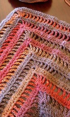 Ravelry: DeniseinLa's Lydia Shawl in Autumn Colors