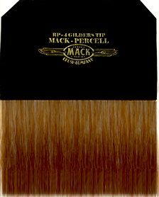 Mack gold leafing brush