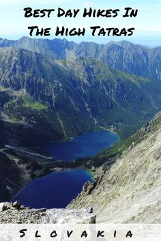 Living in Central Europe now, our mountain paradise here is the High Tatras of Slovakia. We were so surprised what a paradise we've found there!