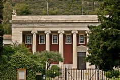 The Gennadius Library was build by the American School of Classical Studies in the after the donation of Ioannis Gennadios' collection. The American School, Modern City, Concert Hall, Neoclassical, Our Life, Athens, Greek, Mansions, House Styles