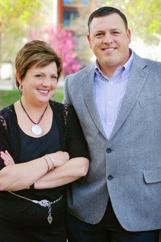 Mother-Son Real Estate Team professional headshot--Britson Sommer Photography, Omaha, NE