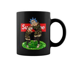 Rick and Morty Supreme Mug