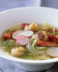 Country Potato-and-Cabbage Soup - German Recipes from Food & Wine