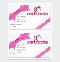 Birthday gift certificate template gift certificate templates 44 free printable gift certificate templates for word pdf yelopaper Choice Image