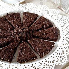 En läcker segkladdig chokladkaffekaka som är populär även hos de som inte dricker kaffe.