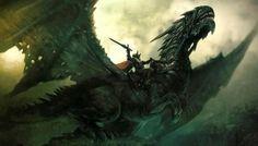 Aegon (the Conqueror) Targaryen & Balerion (the Black Dread)