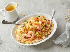 Karibian jättikatkarapu-chiliriisi | Valio Molecular Gastronomy, Fish And Seafood, Risotto, Mango, Curry, Koti, Ethnic Recipes, January, Inspiration