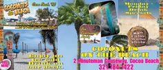 50% OFF Total Check At Coconuts On The Beach, Cocoa Beach, FL With Half Price Gift Certificates From The Hometown News:)  http://spacecoastcouponsofbrevard.com/coupons/hometown-new