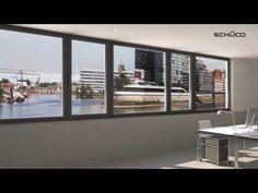 Schüco gevelsysteem FWS 60 CV - YouTube