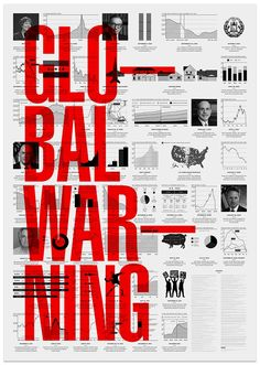 Creative Graphic, Information, Design, Black, and Red image ideas & inspiration on Designspiration Graphisches Design, Layout Design, Print Design, Global Design, Bold Typography, Typography Poster, Graphic Design Posters, Graphic Design Inspiration, Cover Design