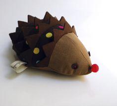 Cisco the hedgehog by contemori on Etsy