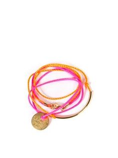 bracelet. love the colors.