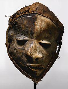 Pende Deformation Mask, Mbangu, Democratic Republic of the Congo wood, pigment Height: 11 1/2 in (29.2 cm)