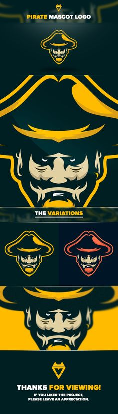 Pirate // Mascot Logo on Behance