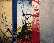 Jonathan Partridge at Handmark Gallery Hobart and Evandale Art Prints Online, Fine Art Prints, Sense Of Place, Partridge, Bird Feathers, Art Studios, Color Patterns, Printmaking, Symbols