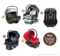 "The Bump ""Best of Baby Awards"" 2013 - Best Budget-Friendly Buy - Britax B-Safe Infant Car Seat #awards"