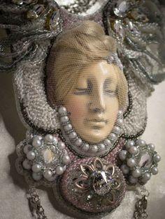 Aphrodite. Collectible Swarovski necklace