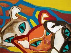 #gatos #pintura by Silvia Maria  #moresco #DMAgallery 10000artistas.com/galeria/4919-pintura-gatos-dolares-700.00-silvia-maria--moresco/   Más obras del artista: 10000artistas.com/obras-por-usuario/768-silviamariamoresco/ Publica tu obra GRATIS! 10000artistas.com Seguinos en facebook: fb.me/10000artistas Twitter: twitter.com/10000artistas Google+: plus.google.com/+10000artistas Pinterest: pinterest.com/dmartistas/artists-that-inspire/ Instagram: instagram.com/10000art