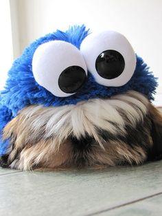 Shih Tzu Cookie Monster by HIADA