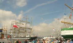 #Toulon Harbor, most of the Vessels are on quay -the party is on, great atmosphere!  #Var #leVar #TSR2013 #MTSR2013